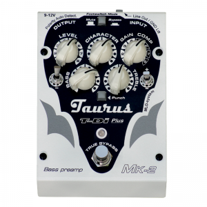 Taurus TDi Plus Bass Preamp, Di-Box and Compressor