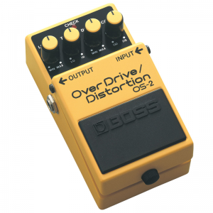 Boss OS-2 Overdrive and Distortion Pedal