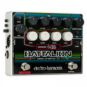 Electro-Harmonix Battalion Bass Preamp and D.I. Pedal