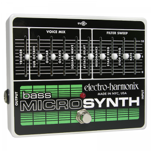 Electro-Harmonix Bass Micro Synthesizer bass synthesizer pedal
