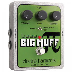 Electro-Harmonix Bass Big Muff PI bass distortion pedal