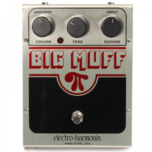 Electro-Harmonix Big Muff PI distortion pedal