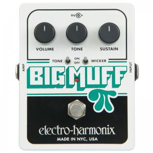Electro-Harmonix Big Muff PI, Tone Wicker distortion pedal