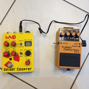 WMD Geiger Counter Pedal (second hand)