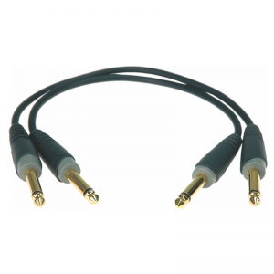 Klotz 6,3 mm Jack - Jack patch cable (2pc.)