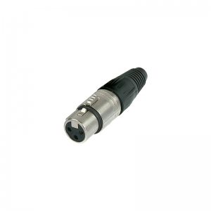 Neutrik NC3FX 3-pin XLR female plug