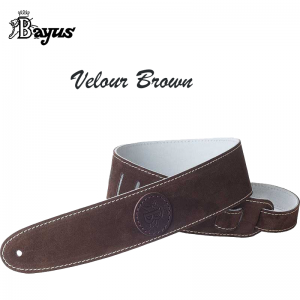Bayus Velour Leather Strap