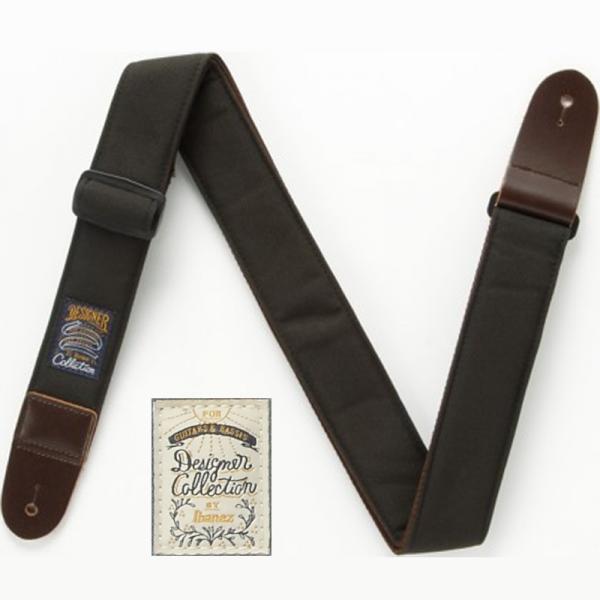 Ibanez DCS50-BK Designer Collection Guitar Strap
