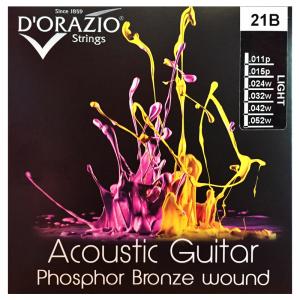 D'Orazio Phosphor-Bronze Acoustic Guitar Strings