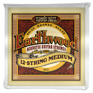 Ernie Ball 12-string Earthwood Bronze Acoustic Guitar Strings