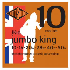 Rotosound JK Jumbo King Phosphor-Bronze Acoustic Guitar Strings