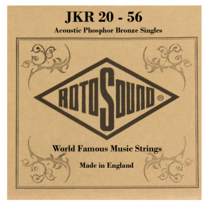 Rotosound PB Phosphor-Bronze Acoustic Guitar Single Strings