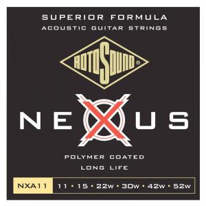 Rotosound NXA Nexus Coated Acoustic Guitar Strings