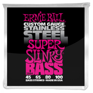 Ernie Ball 4-string Bass String (stainless steel)