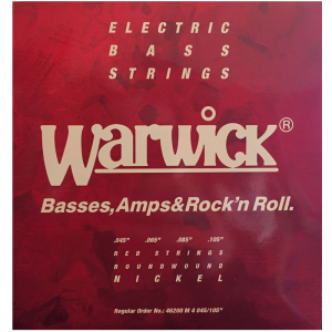 Warwick RED 4-string Nickel Bass Guitar Strings