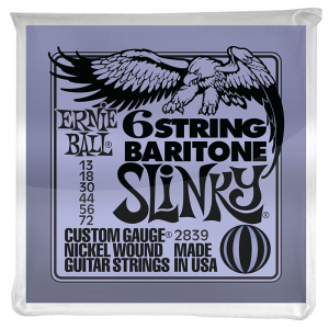 Ernie Ball 2839 Baritone Electric Guitar Strings