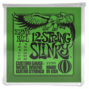 Ernie Ball 2230 Nickel Wound 12-String Electric Guitar Strings