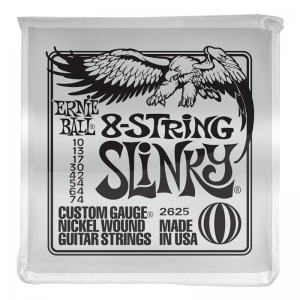 Ernie Ball 2625 Nickel Wound 8-String Electric Guitar Strings