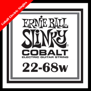 Ernie Ball Single Cobalt Electric Guitar Strings