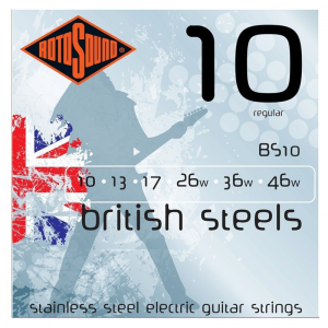 Rotosound BS British Steel Electric Guitar Strings