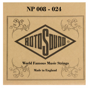 Rotosound NP Electric / Acoustic Guitar Single Strings
