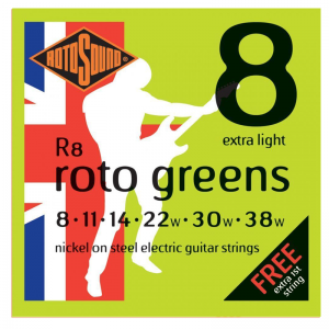 Rotosound Roto Nickel Electric Guitar Strings