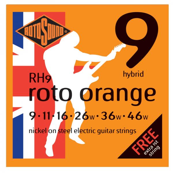 Rotosound Roto Nickel Electric Guitar Strings