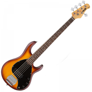Sterling SUB Ray5 bass guitar