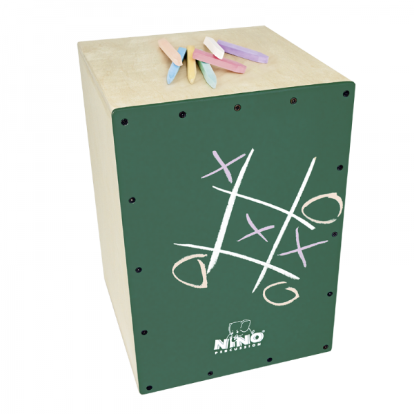 Nino 951DG-MYO Make Your Own Chalkboard Cajon