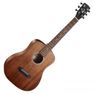 Cort ADMiniM Acoustic Mini Guitar with Case
