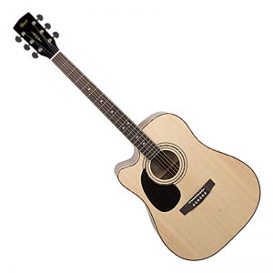 Cort AD880CE-LH Left-handed Electro-Acoustic Guitar