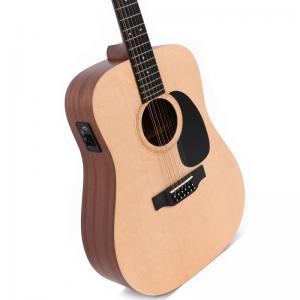 Sigma DM12E Plus 12-string electro-acoustic guitar