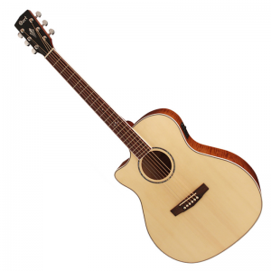 Cort GA FF LH NAT Electro-acoustic Guitar (left handed)