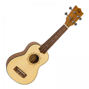 Flight DUS-320SP/ZEB Ukulele With Bag (Soprano)