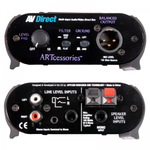 ARTcessories AV Direct audio/video D.I. box