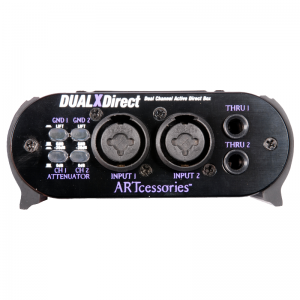 ARTcessories Dual X Direct active stereo D.I. box
