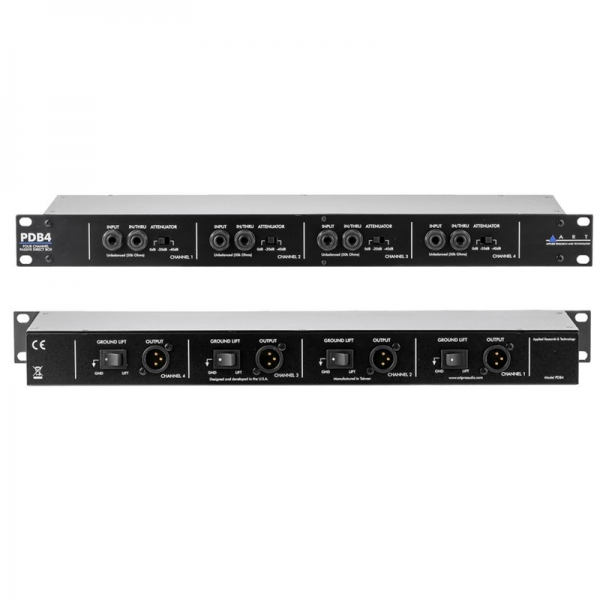 ART PDB4 4-channel passive D.I. box