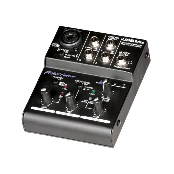 ART USB Mix 3-channel USB mixer, interface