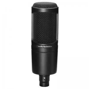 Audio-Technica AT2020 condenser studio microphone