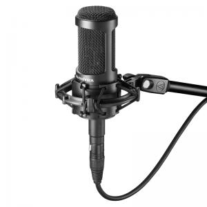 Audio-Technica AT2035 large diaphragm condenser studio microphone