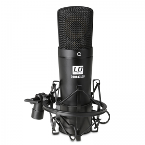 LD Systems D1014C USB condenser podcast mic