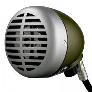 Shure 520 DX Harmonica Microphone (Green Bullet)