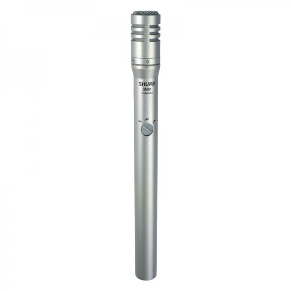 Shure SM81 LC Condenser Instrument Microphone
