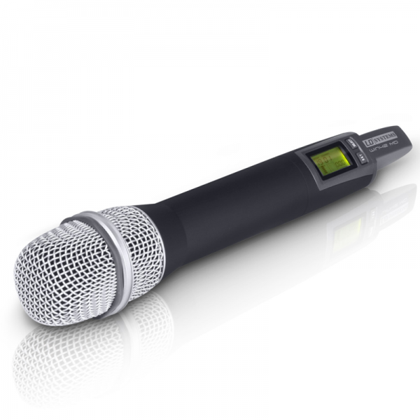 LD Systems WIN 42 handheld transmitter with dynamic element