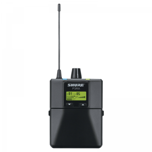 Shure P3RA PSM300 Wireless Receiver, All-Metal Housing