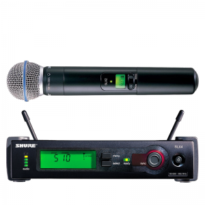 Shure SLX2 /BETA58 Handheld Wireless Transmitter, Beta58A