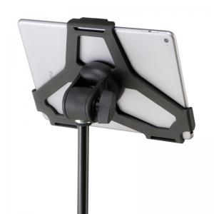 König & Meyer KM1971730055 iPad holder, microphone stand top mount