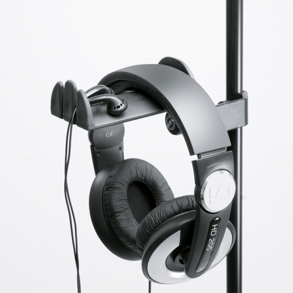 König & Meyer KM1608000055 headphone holder, microphone stand mountable
