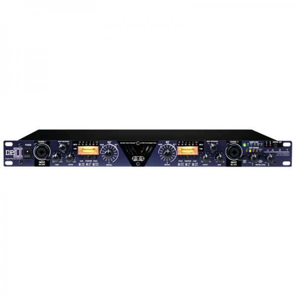 ART DPS II 2-channel tube preamp with digital outputs