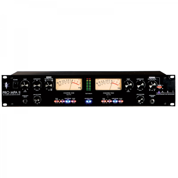 ART ProMPA II 2-channel microphone preamp